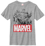 Youth: Avengers- Marvel Classics T-Shirt