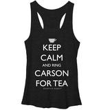 Juniors Tank Top: Downton Abbey- Ring Carson T-Shirt