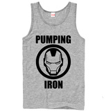 Iron Man- Pump Iron (Premium) T-Shirt