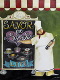 Savor the Sweet Life Wood Print by Jennifer Garant