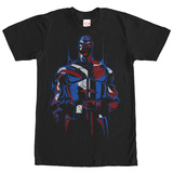 Captain America- Red, White & Blue Shirts