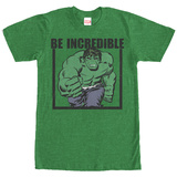 Incredible Hulk- Be Incredible (Premium) T-Shirt