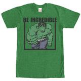 Incredible Hulk- Be Incredible (Premium) T-Shirts