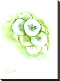 Cucumberss Stretched Canvas Print by Suren Nersisyan