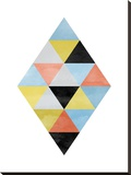 Geometric 09 Stretched Canvas Print by Ivana Sepa