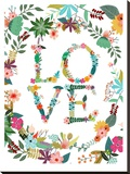 Love Stretched Canvas Print by Mia Charro