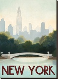 New York Stretched Canvas Print by Marco Fabiano