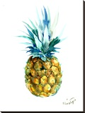 Pineapple Stretched Canvas Print by Suren Nersisyan
