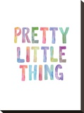 Pretty Little Thing Stretched Canvas Print by Brett Wilson
