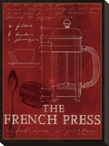 The French Press Stretched Canvas Print by Marco Fabiano