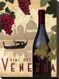 Vine Del Vinezia Stretched Canvas Print by Marco Fabiano