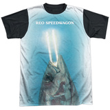 Reo Speedwagon- You Can Tuna Fish (Black Back) T-shirts