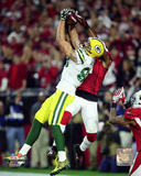 Jeff Janis Touchdown Catch 2015 NFC Divisional Playoff Game Photo