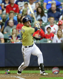 Ryan Braun 2015 Action Photo