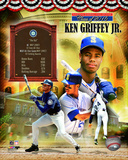 Ken Griffey Jr. MLB Hall of Fame Legends Composite Photo