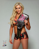 Charlotte with the Divas Championship Belt 2015 Photo