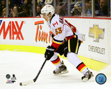 Johnny Gaudreau 2013-14 Action Photo