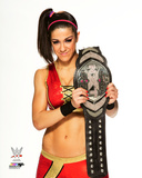 Bayley with the NXT Divas Championship Belt 2015 Photo