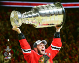 Jonathan Toews with the Stanley Cup Game 6 of the 2015 Stanley Cup Finals Photo