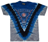 Youth: MLB: Cubs V-Dye Shirt