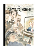 The New Yorker Cover - February 1, 2016 Regular Giclee Print by Barry Blitt