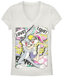 Juniors: Looney Tunes- Bunny Love T-shirts