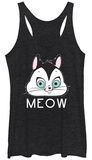 Juniors Tank Top: Looney Tunes- Cute Kitty Shirts
