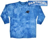 Long Sleeve: Panthers- Gridiron (Front/Back) T-skjorter