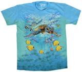 Swimming Sea Turtles Tshirts