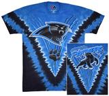 NFL: Carolina Panthers- Logo V-Dye (Front/Back) T-Shirt
