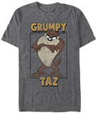 Looney Tunes- Grumpy Taz T-shirts