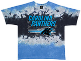 Carolina Panthers- Horizontal Stencil T-skjorte