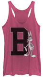 Juniors Tank Top: Looney Tunes- B Is For Bugs Shirts