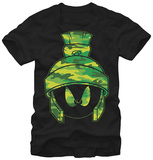 Looney Tunes- Camo Marvin T-shirts