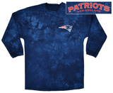 Long Sleeve: Patriots- Gridiron (Front/Back) Tシャツ