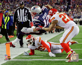 Tom Brady touchdown run 2015 AFC Divisional Playoff Game Photo