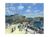 Pont Neuf, Paris by Pierre-Auguste Renoir Giclee Print