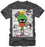 Looney Tunes- Martians In The News T-Shirts