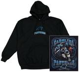 Hoodie: NFL: Panthers- Running Back (Front/Back) Hettegenser