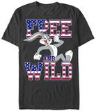 Looney Tunes- Bugs Free & Wild Shirt