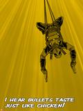 Deadpool - I Hear Bullets Taste like Chicken! Posters
