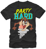 Looney Tunes- Taz Party Hard Shirts
