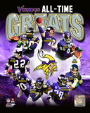 Minnesota Vikings All-Time Greats Composite Photo