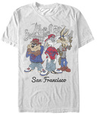 Looney Tunes- San Francisco Crew T-shirts