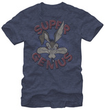 Looney Tunes - Coyote Super Genius T-shirts