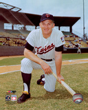 Harmon Killebrew 3 of the Minnesota Twins posed with bat Photo