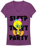 Juniors: Looney Tunes- Tweety Agenda T-Shirt