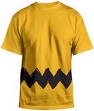 Peanuts- Charlie Brown Costume Tee (Front/Back) T-Shirt