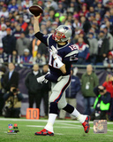 Tom Brady 2015 AFC Divisional Playoff Game Photo