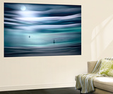 Sailing by Moonlight Wall Mural by Ursula Abresch